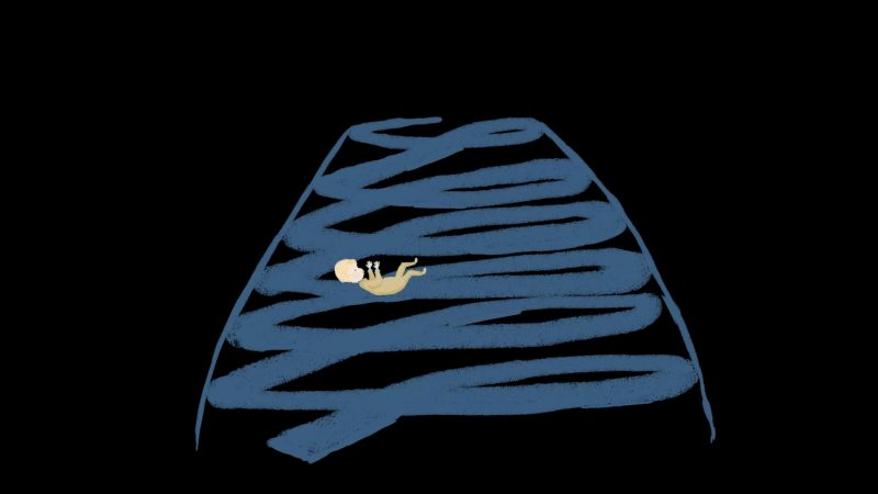 Ganymed in Power, Trickfilm von Shadab Shayegan zu einem Song von Emily Stewart über Die Infantin im weißen Kleid von Diego Velazquez