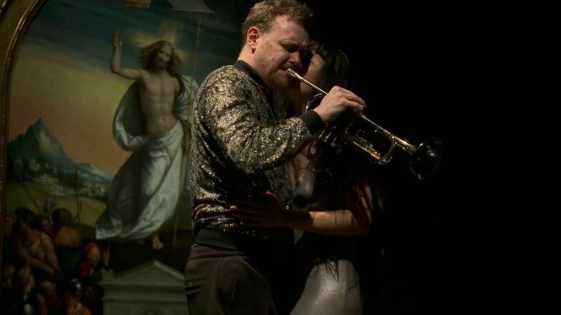 Ganymed in Love, Manaho Shimokawa und Martin Eberle spielen zu Hl Margarete von Rafael