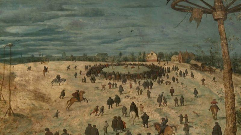 Ganymed goes Europe, Yury Revich spielt die Komposition Walzer von Johanna Doderer zu Kreutztragung von Pieter Bruegel